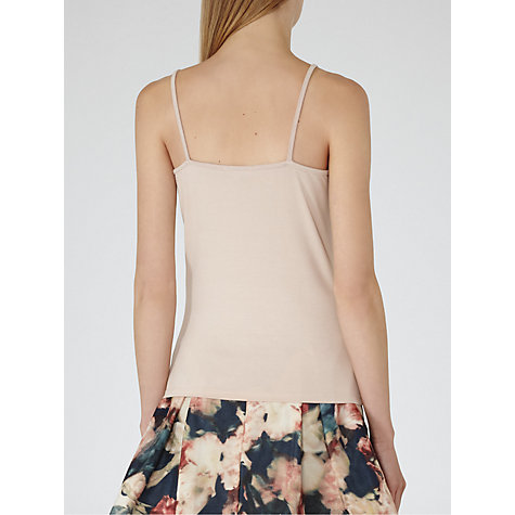 Buy Reiss Cami Top, Blush Online at johnlewis.com