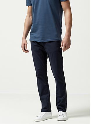 SELECTED HOMME Three Paris Organic Cotton Stretch Chinos