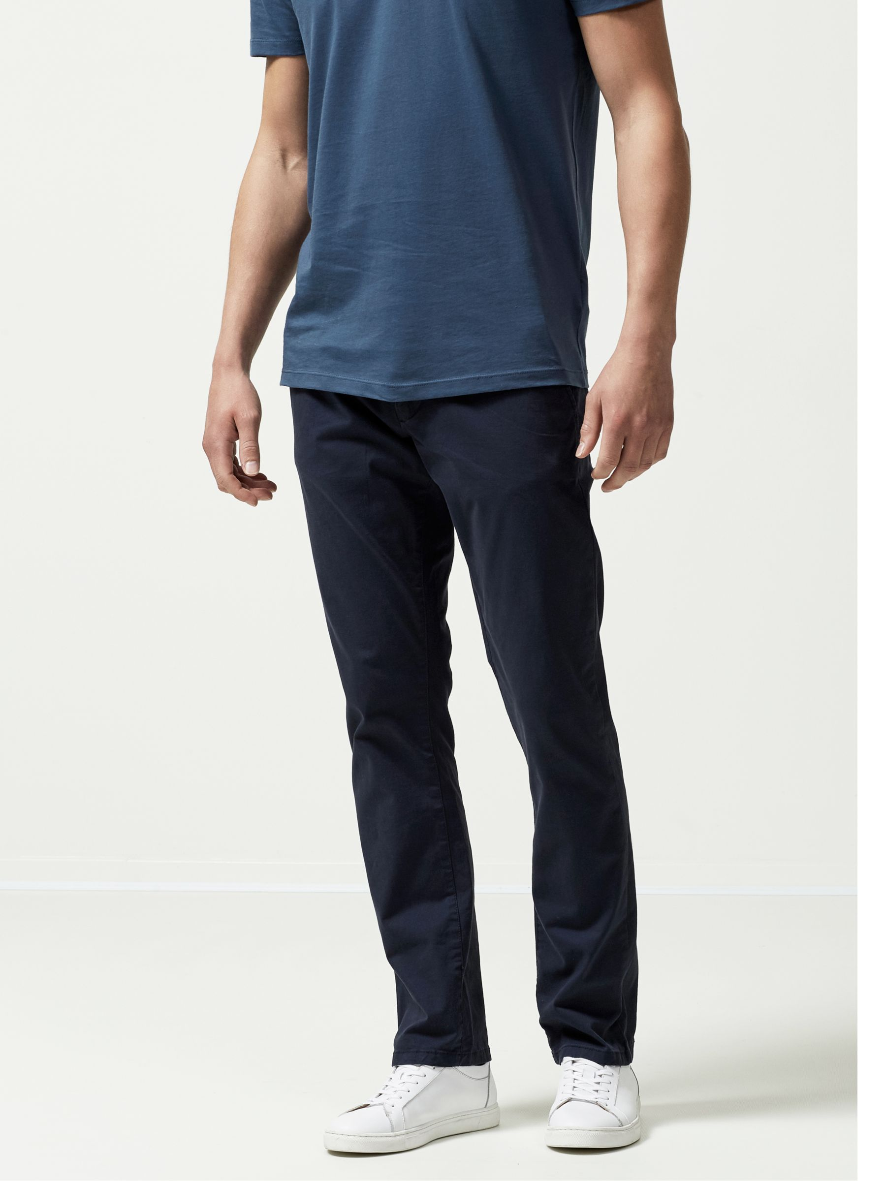 Selected Homme SELECTED HOMME Three Paris Organic Cotton Stretch Chinos