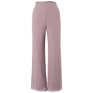 Chesca Jersey Lined Chiffon Trouser