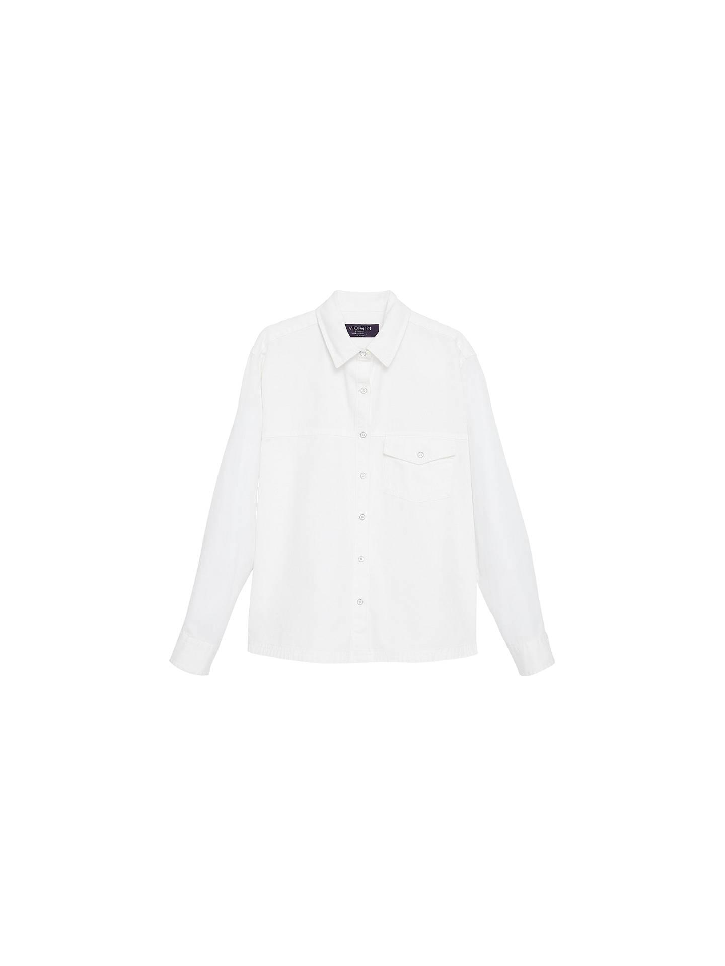 8f248450076 BuyVioleta by Mango Denim Shirt