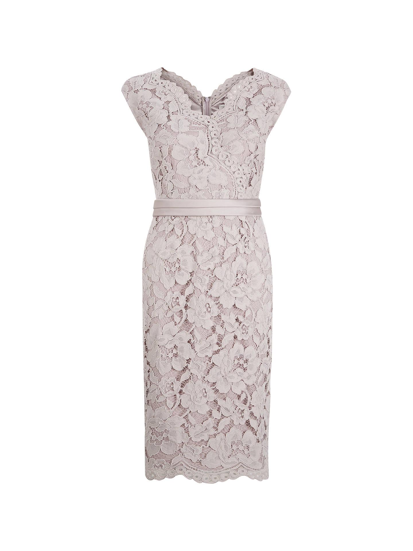 7ca6e7bd63192 Jacques Vert Opulent Lace Cross Dress at John Lewis   Partners