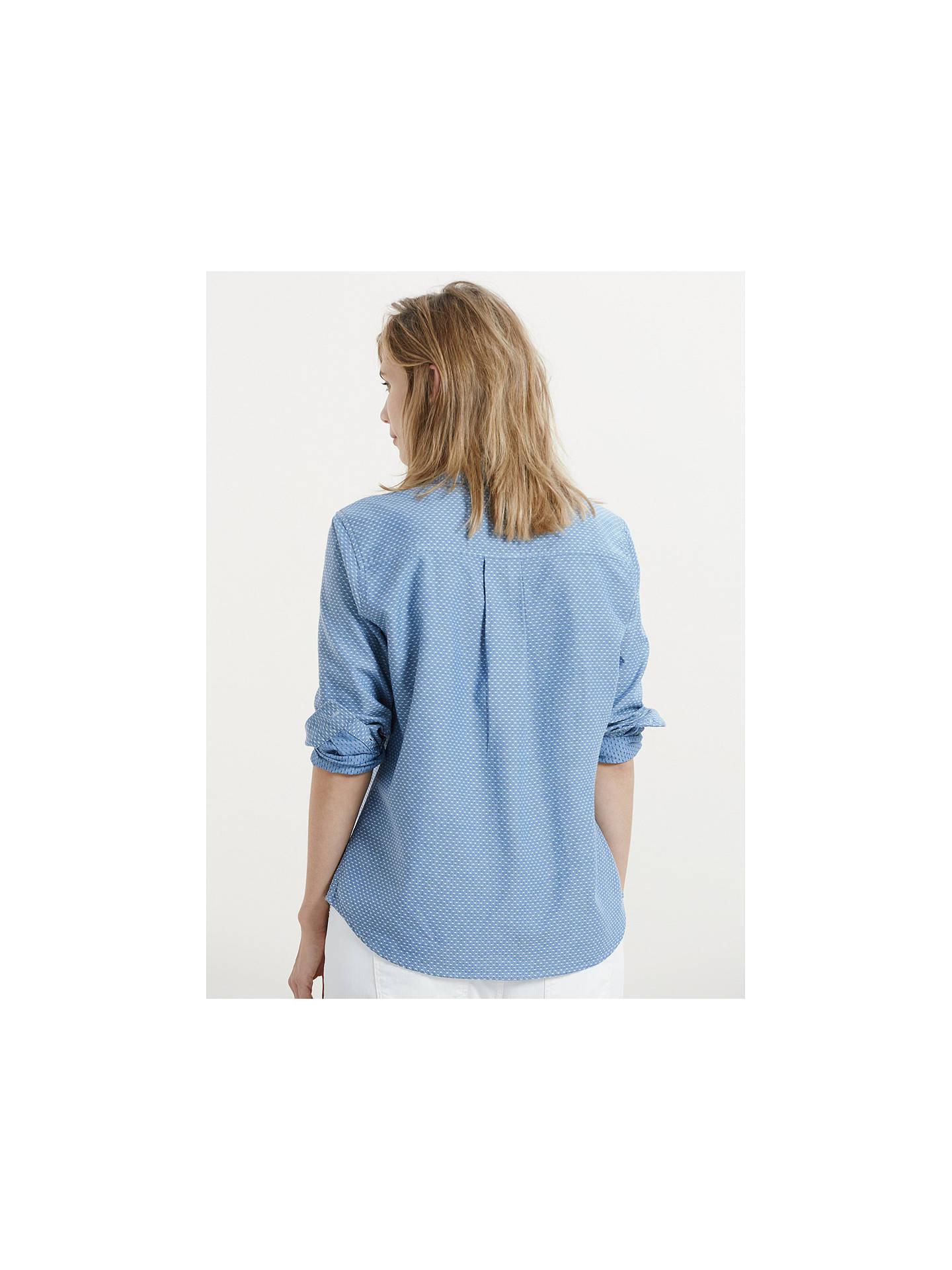 9de294098cb Buy Violeta by Mango Geometric Denim Shirt