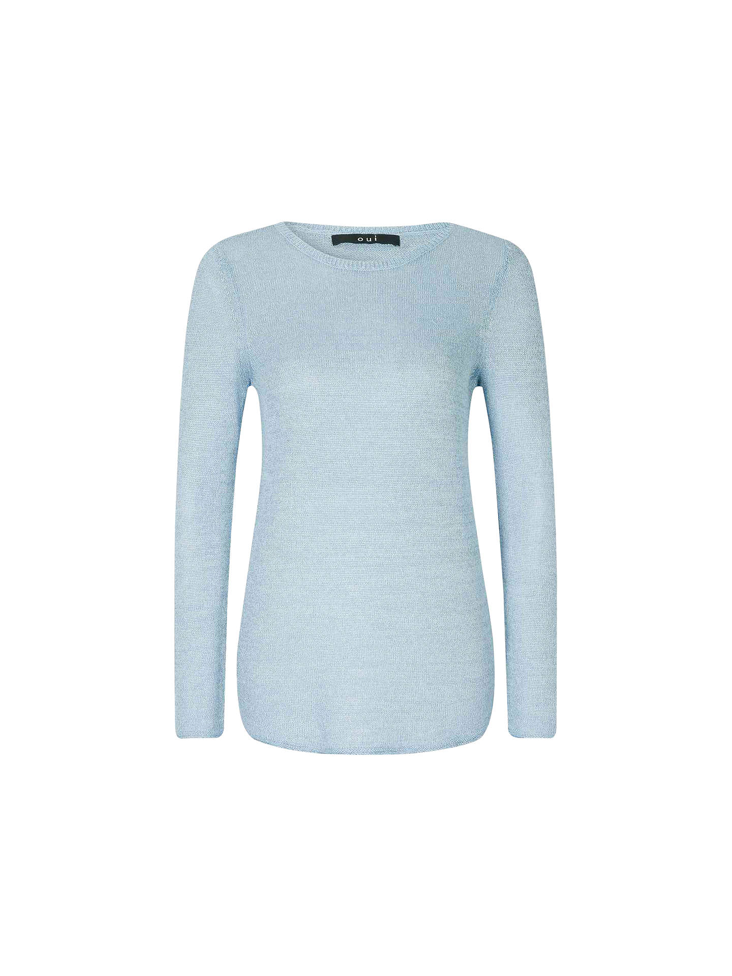 debfb94e9bdbbb Buy Oui Knit Jumper, Light Blue, 8 Online at johnlewis.com ...