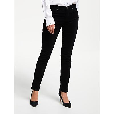 AG The Corduroy Prima Skinny Jean, Super Black