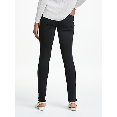 Paige Skyline High Rise Skinny Jeans, Black Shadow