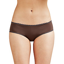 Buy Calvin Klein Underwear Seductive Comfort Hipster Briefs, Smoke Online at johnlewis.com