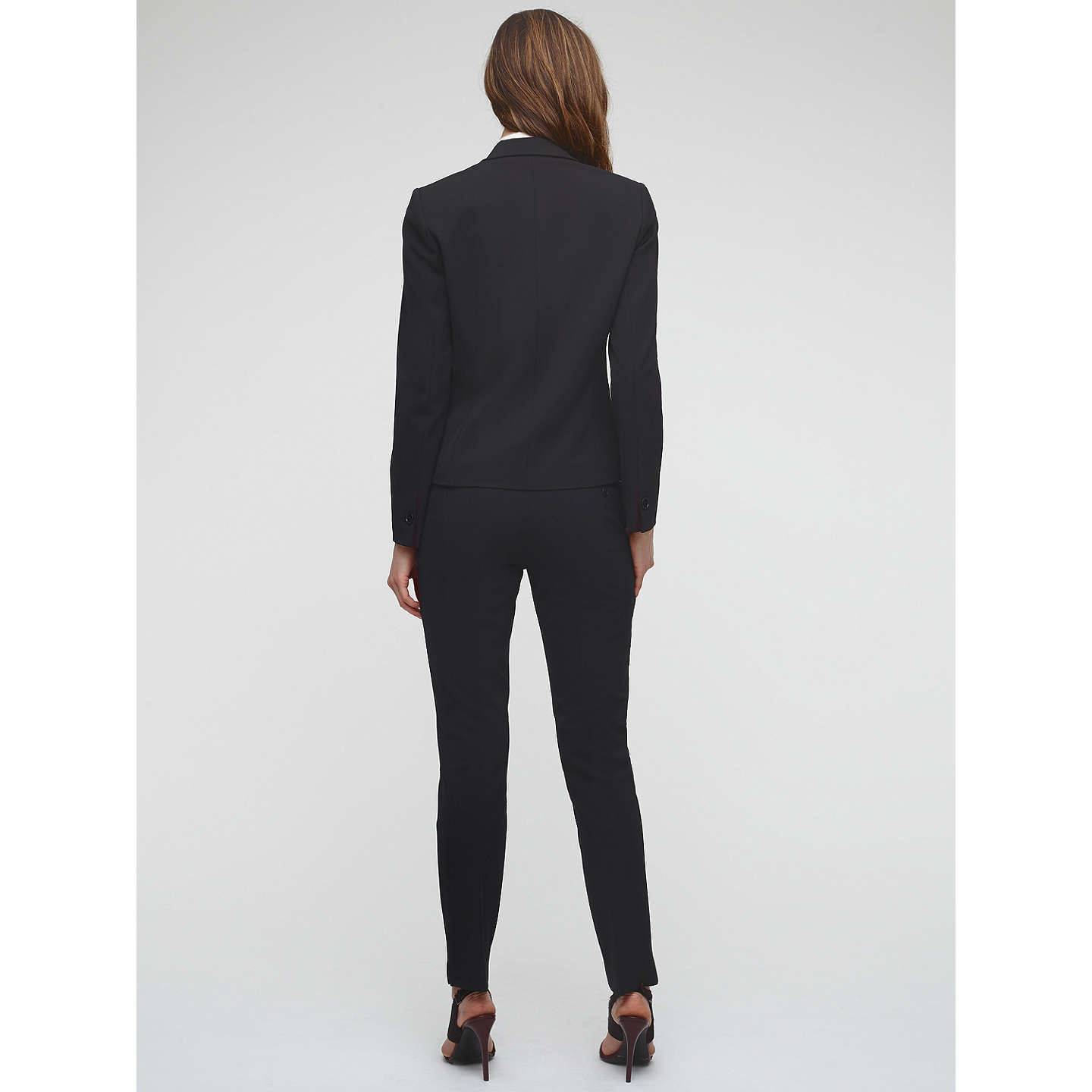 BuyJigsaw New Paris One Button Jacket, Black, 8 Online at johnlewis.com