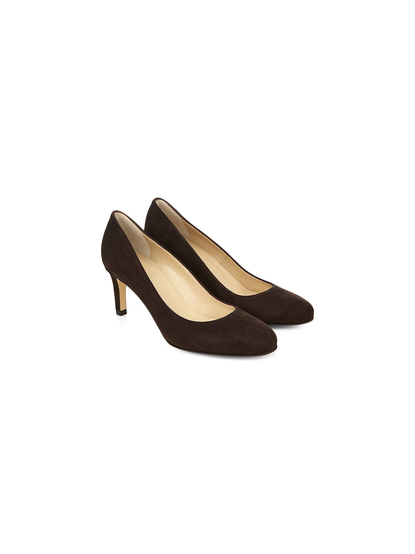 e2c29f6292864 Hobbs Lizzie Leather Court Shoes at John Lewis & Partners