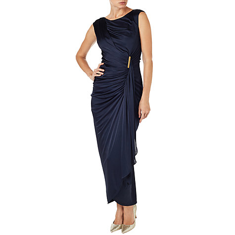 Buy Phase Eight Donna Maxi Dress, Cobalt Online at johnlewis.com