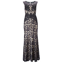 Buy Phase Eight Collection 8 Pedra Lace Maxi Dress, Pewter Online at johnlewis.com