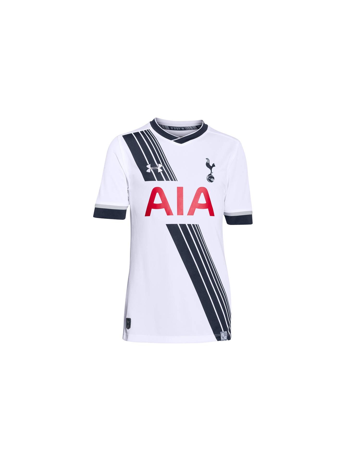 08a868cd Buy Under Armour Tottenham Hotspur 2015/16 Junior Home Shirt, White, S  Online ...