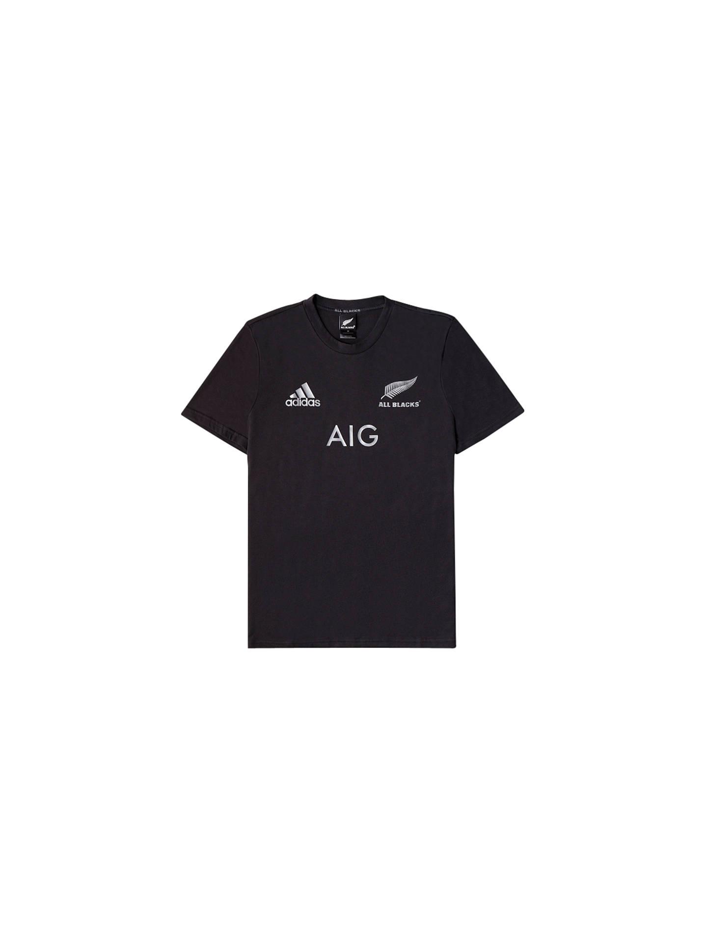 4efee1db Buy Adidas New Zealand All Blacks 2015/16 Players Performance Rugby T-Shirt  ...