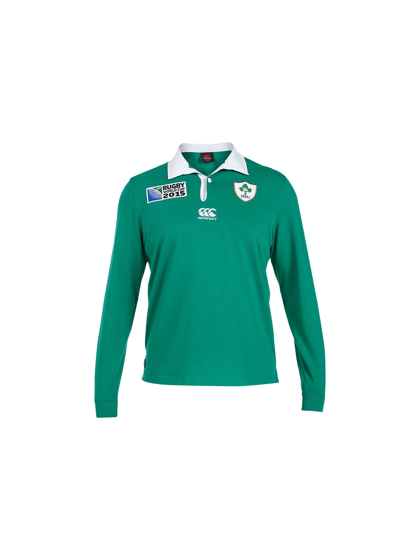 f3b40c19c1c Buy Canterbury of New Zealand Rugby World Cup Ireland Home Classic Long  Sleeve Rugby Shirt, ...