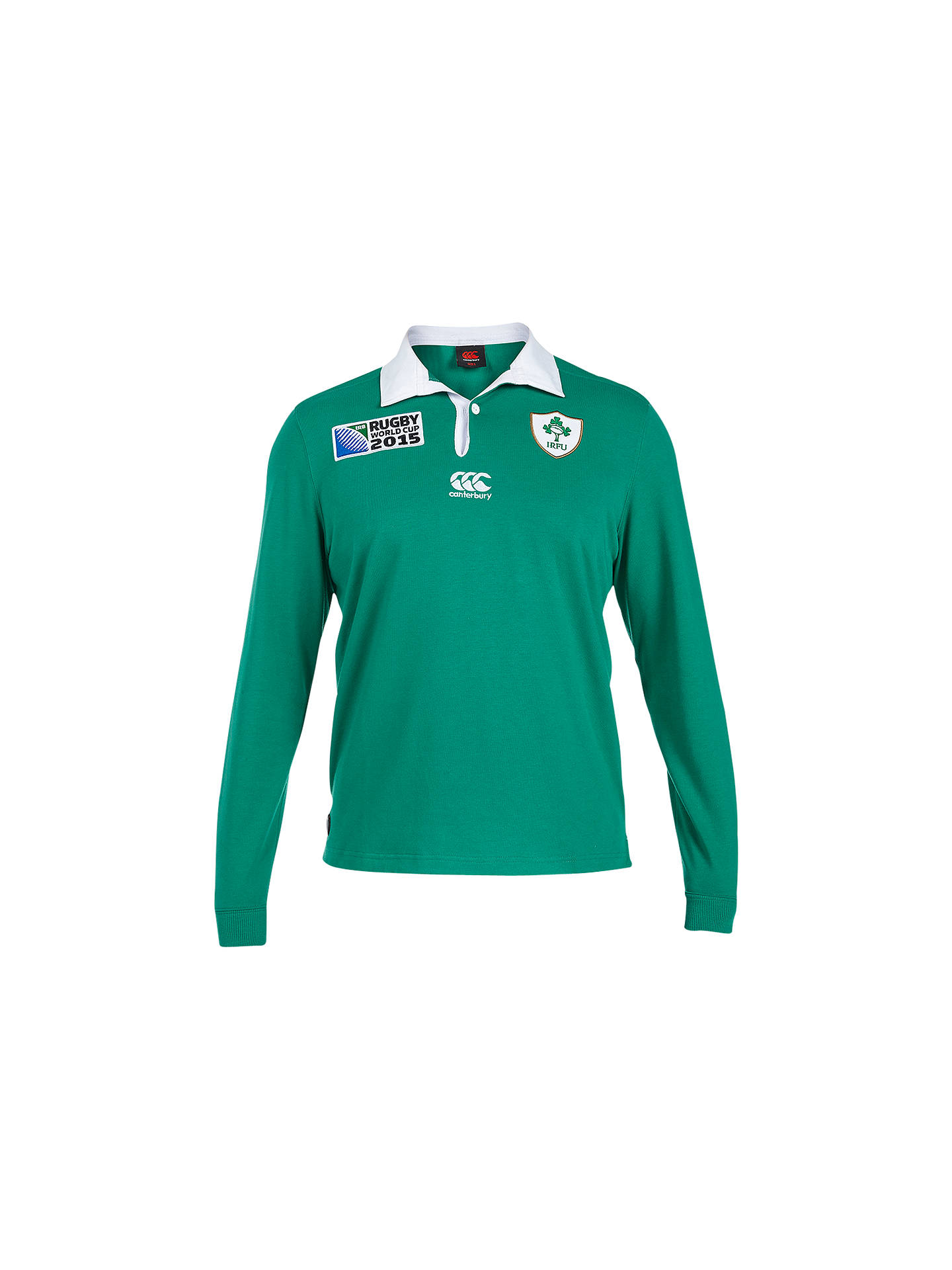 3ce69d93f Buy Canterbury of New Zealand Rugby World Cup Children's Ireland Home  Classic Long Sleeve Rugby Shirt ...