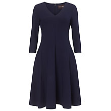 Buy Phase Eight Sienna Skater Dress, Navy Online at johnlewis.com