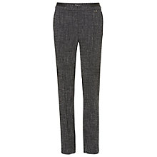 Buy Betty Barclay Straight Leg Tailored Trousers, Grey Melange Online at johnlewis.com