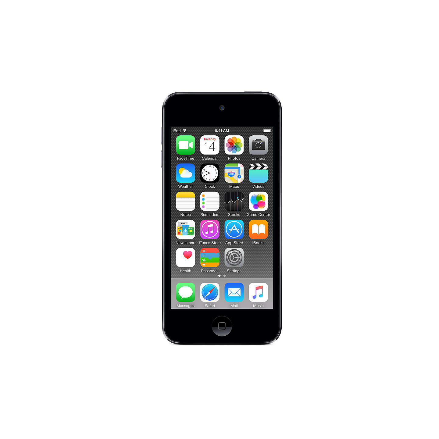 apple ipod touch 32gb space grey at john lewis. Black Bedroom Furniture Sets. Home Design Ideas