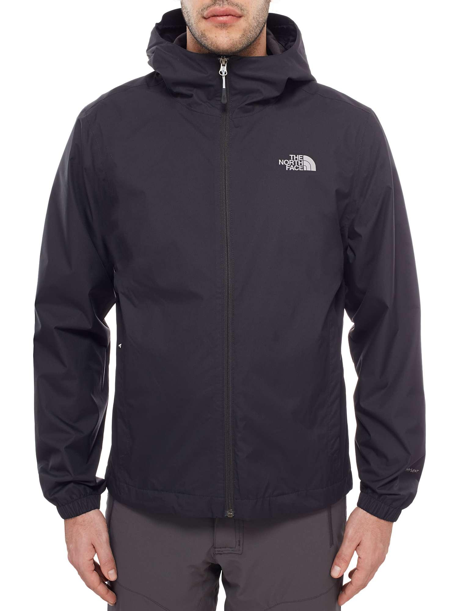 The North Face Quest Waterproof Men's Jacket, Black by John Lewis