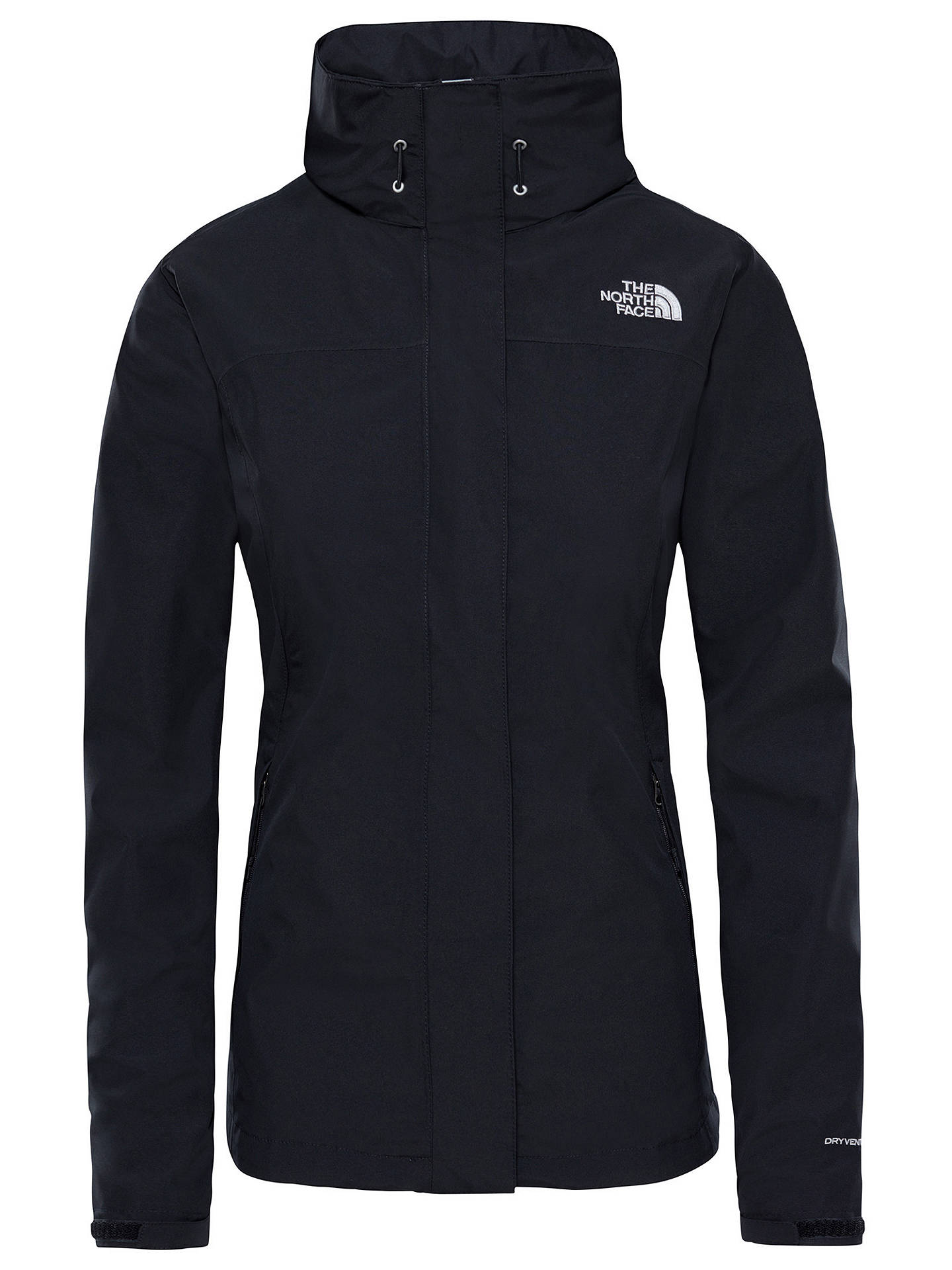 BuyThe North Face Sangro Waterproof Women's Jacket, Black, S Online at johnlewis.com