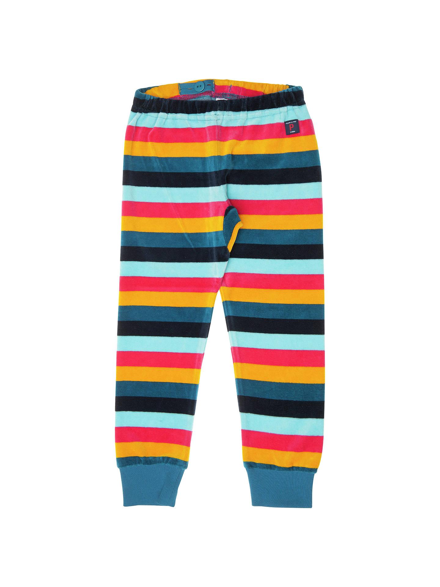Baby Polarn O Pyret Stripey Panel Swim Trunks