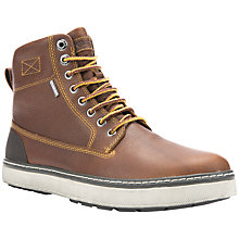Buy Geox Mattias Amphibiox Lace-Up Boots, Brown Online at johnlewis.com