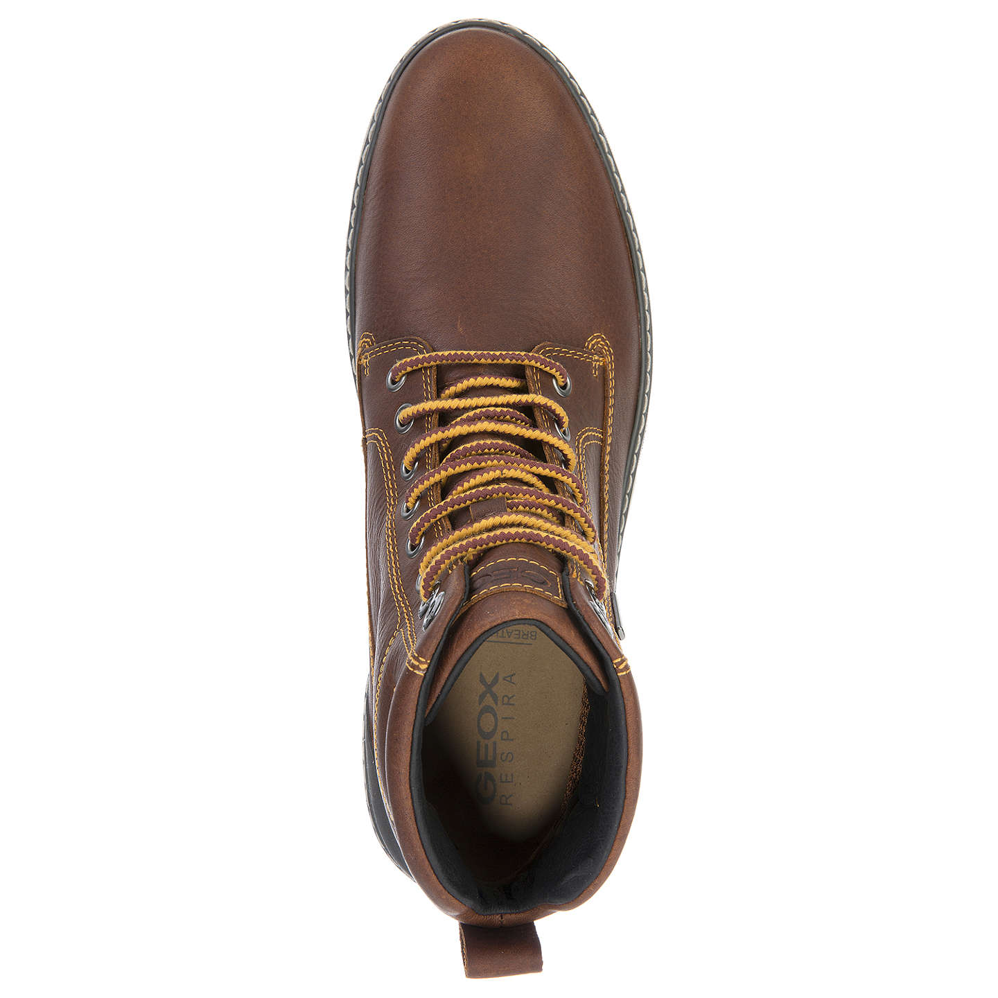 BuyGeox Mattias Amphibiox Lace-Up Boots, Brown, 41 Online at johnlewis.com