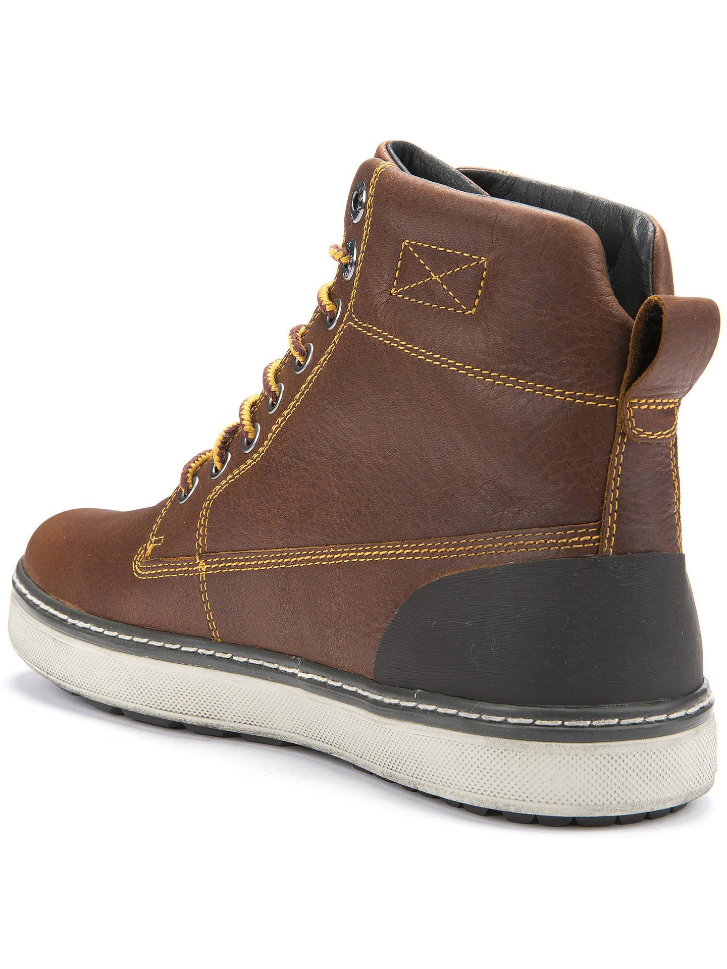 Ilustrar Ceder Anual  Geox Mattias Amphibiox Lace-Up Boots, Brown at John Lewis & Partners
