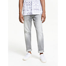 Buy Scotch & Soda Ralston Stone Jeans, Cement Malange Online at johnlewis.com
