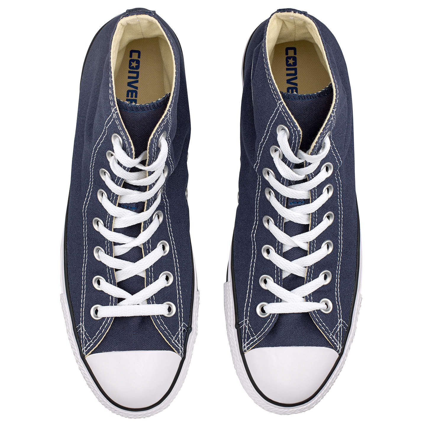 BuyConverse All Star Hi-Top Trainers, Navy, 7 Online at johnlewis.com