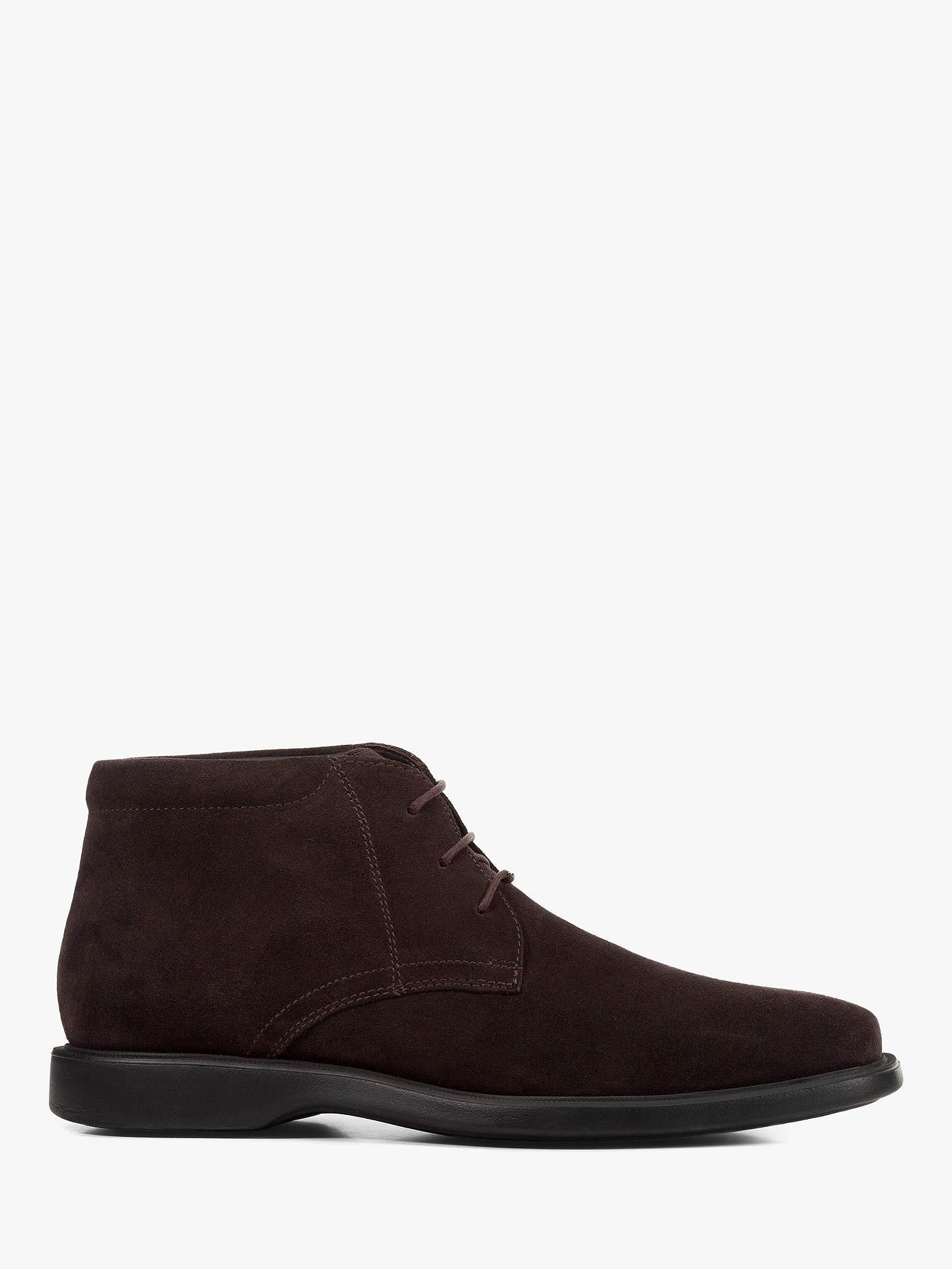 616fb3340d Buy Geox Brayden Amphibiox Waterproof Leather Chukka Boots, Coffee, 7  Online at johnlewis.