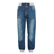 Buy John Lewis Boys' Slouch Jeans, Blue Online at johnlewis.com