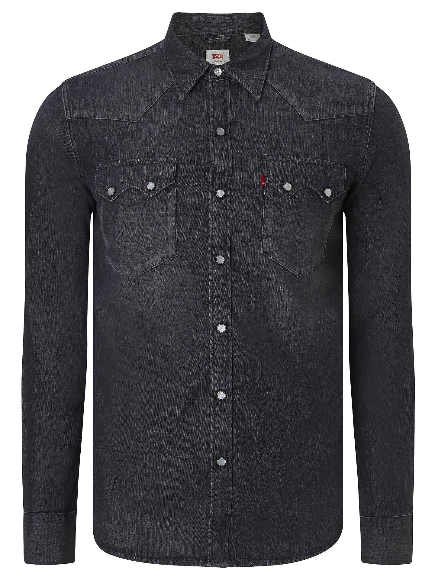 3d03ff4343 Buy Levi s 1955 Sawtooth Denim Shirt