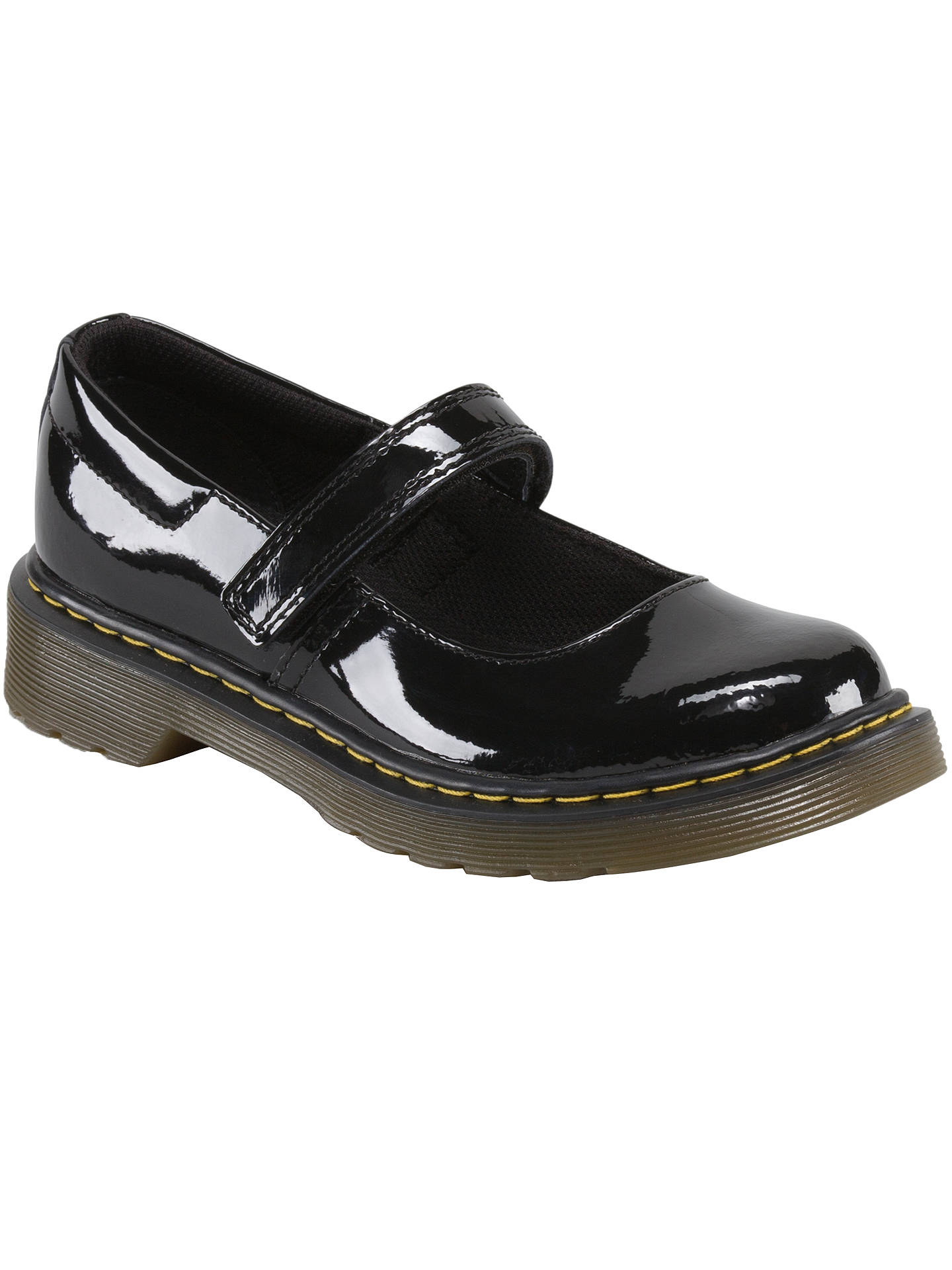 Dr Martens Children's Tully Mary Jane Shoes, Black at John