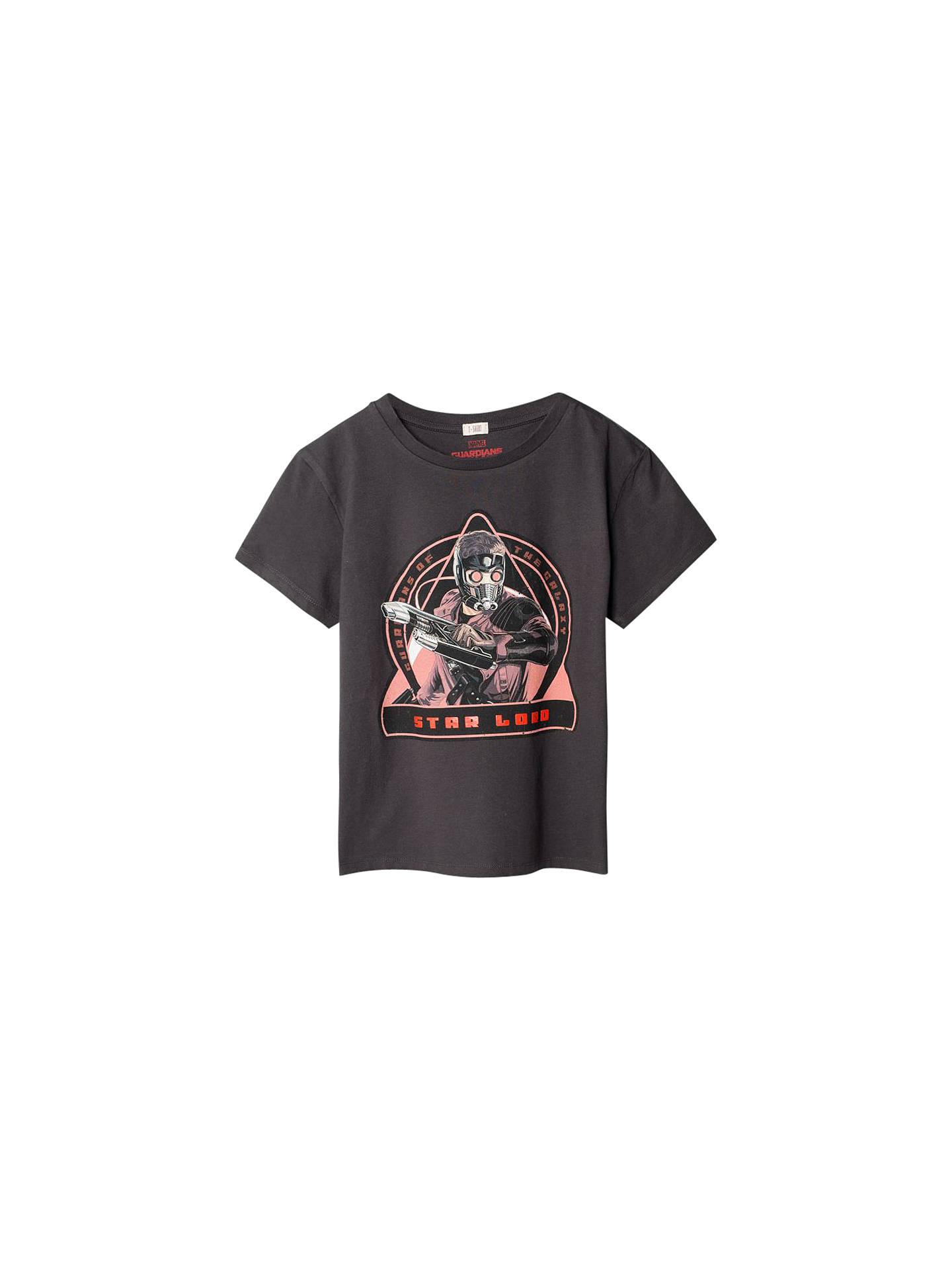 58b035cad86 Mango Kids Boys' Guardians of the Galaxy Star Lord T-Shirt, Charcoal ...