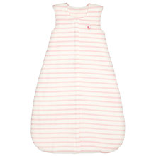Buy John Lewis Baby Stripe Travel Sleep Bag, 1 Tog, Pink Online at johnlewis.com