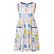 Buy John Lewis Girls' Patchwork Print Dress, Multi Online at johnlewis.com