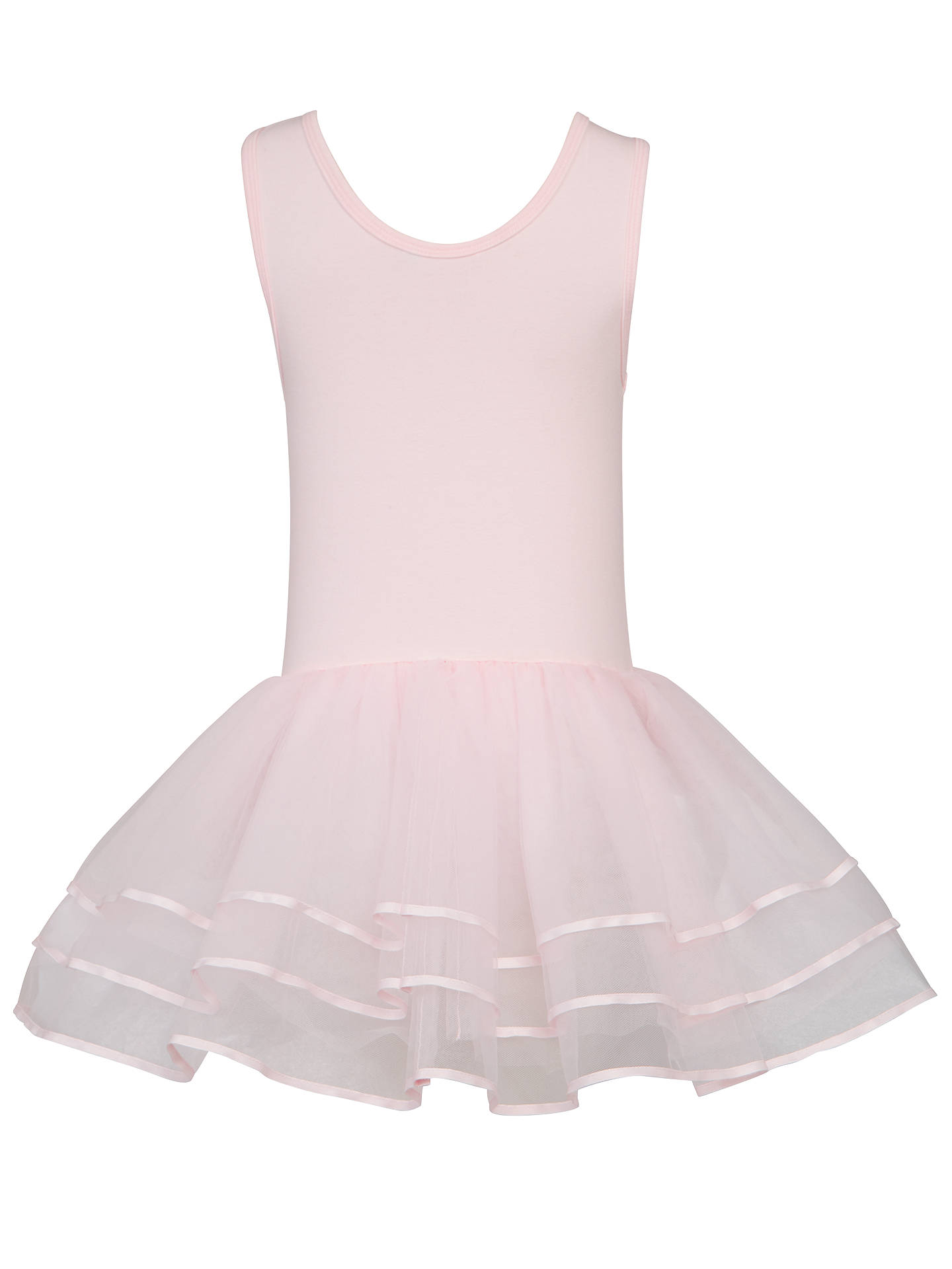 BuyJohn Lewis & Partners Girls' Ballet Tutu Dress, Pink, 2 years Online at johnlewis.com