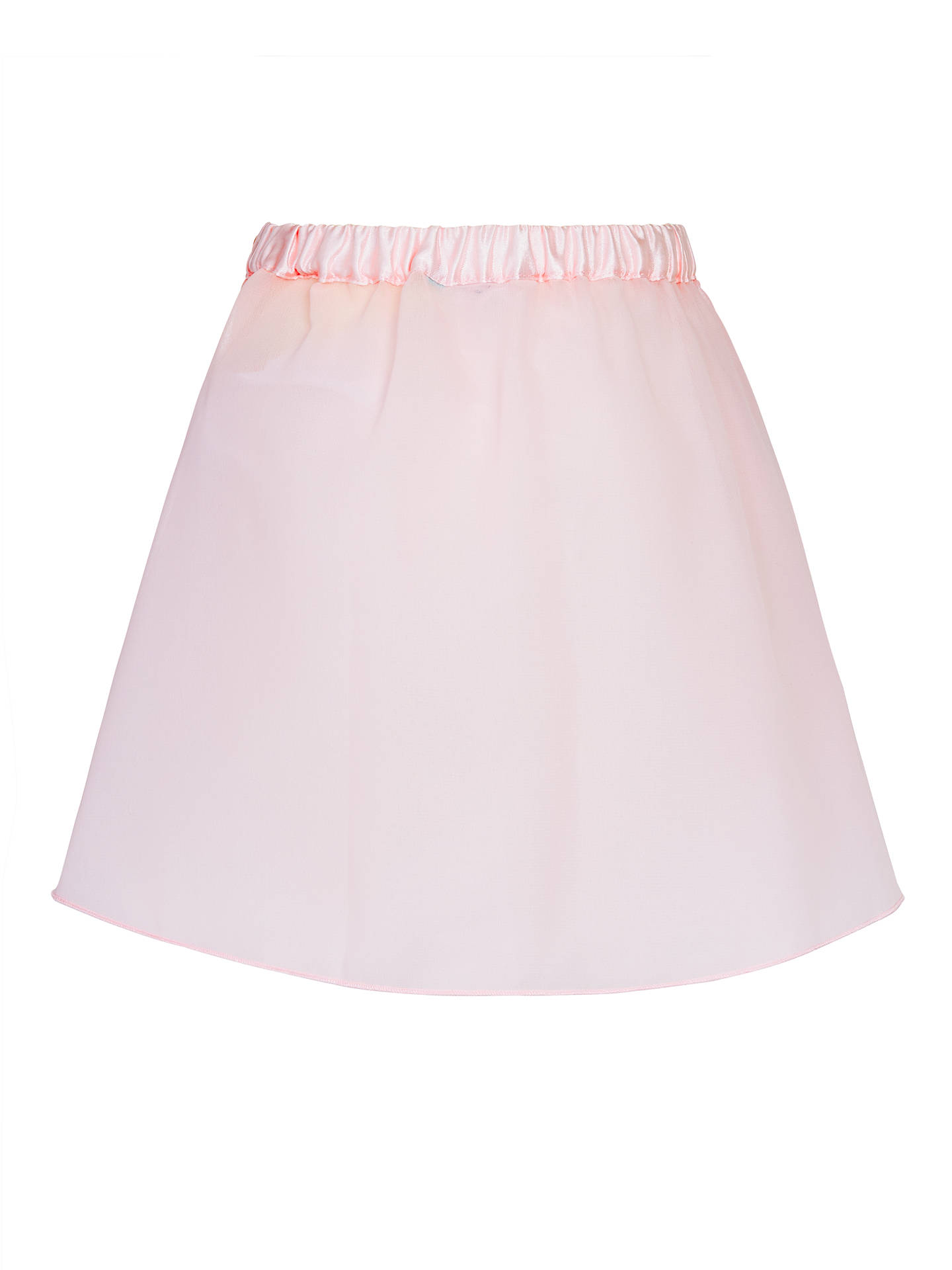 BuyJohn Lewis & Partners Girls' Chiffon Ballet Skirt, Pink, 2 years Online at johnlewis.com