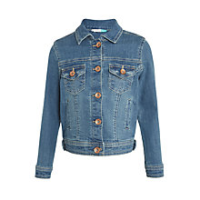 Buy John Lewis Girls' Denim Jacket, Blue Online at johnlewis.com