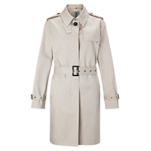 Buy Four Seasons Single Breasted Short Trench Jacket Online at johnlewis.com
