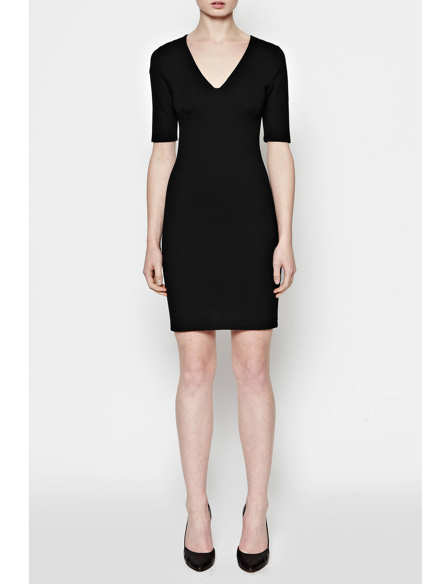 272c7f846cf ... Buy French Connection Lula Stretch V-Neck Dress