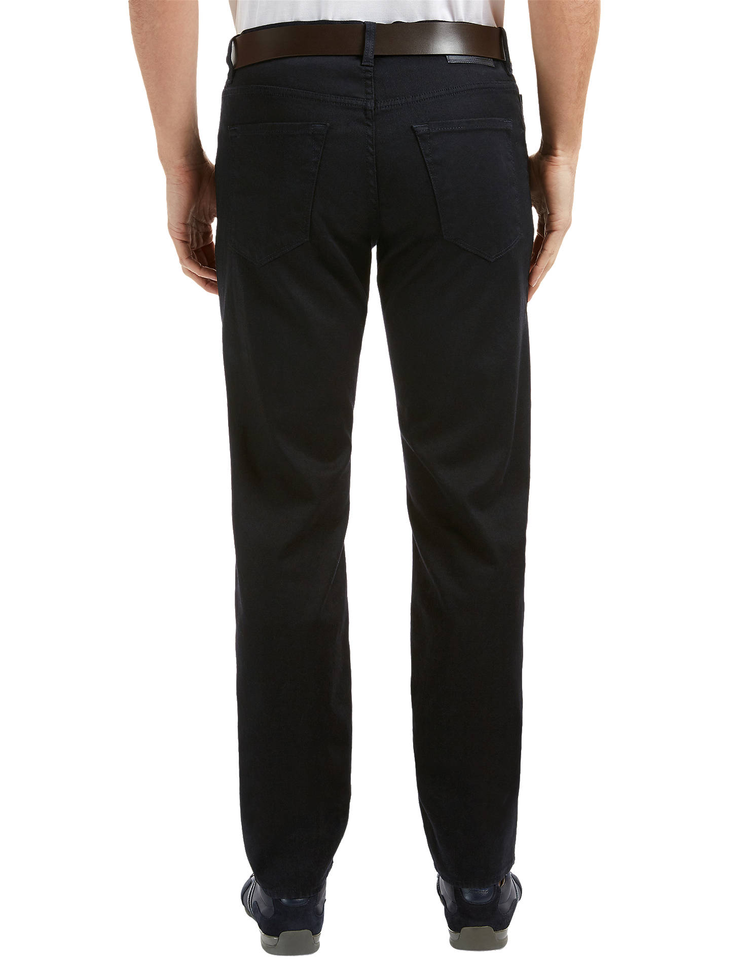 BuyBOSS Green C-Maine Straight Jeans, Oxford, 30R Online at johnlewis.com