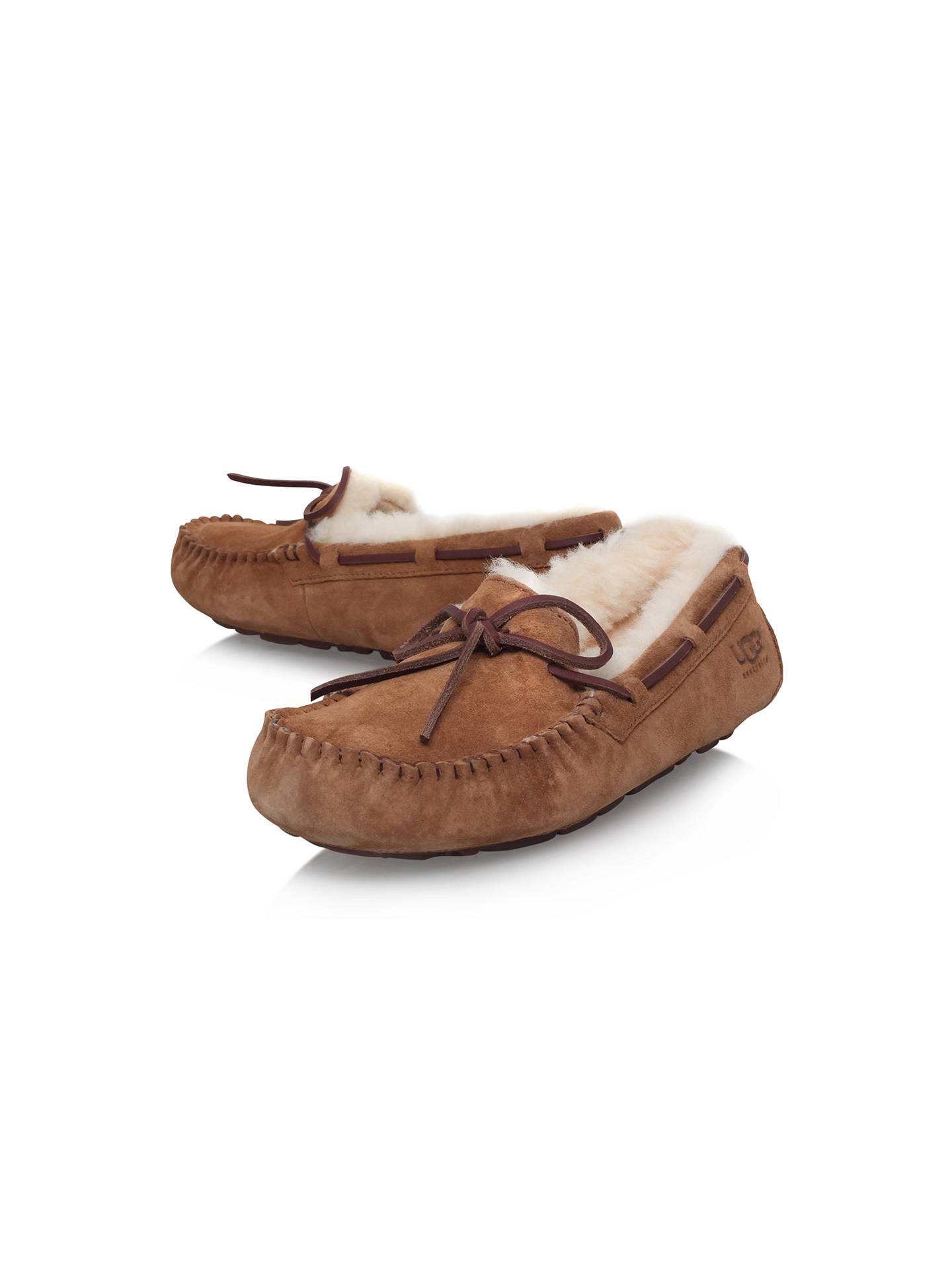 fd8e505e1db UGG Dakota Suede Moccasin Slippers at John Lewis & Partners
