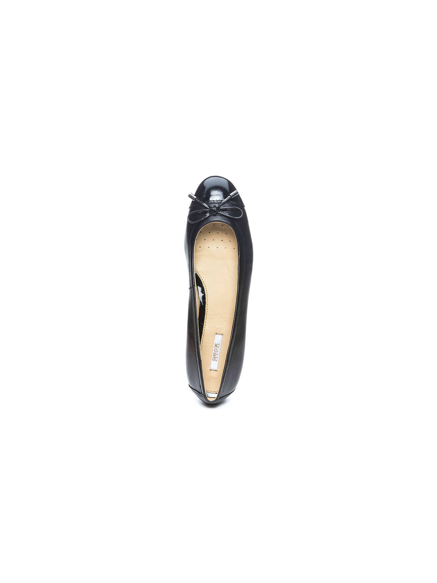 fbfa02602cc4 ... Buy Geox Women s Lola Flat Bow Detail Ballet Pumps