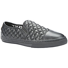 Buy Geox New Club Quilted Slip On Plimsolls Online at johnlewis.com