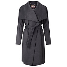 Buy Phase Eight Bruna Belted Coat, Charcoal Online at johnlewis.com