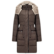 Buy Phase Eight Peta Padded Coat, Mink Online at johnlewis.com