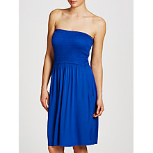 Buy John Lewis Jersey Bandeau Dress, Cobalt Online at johnlewis.com