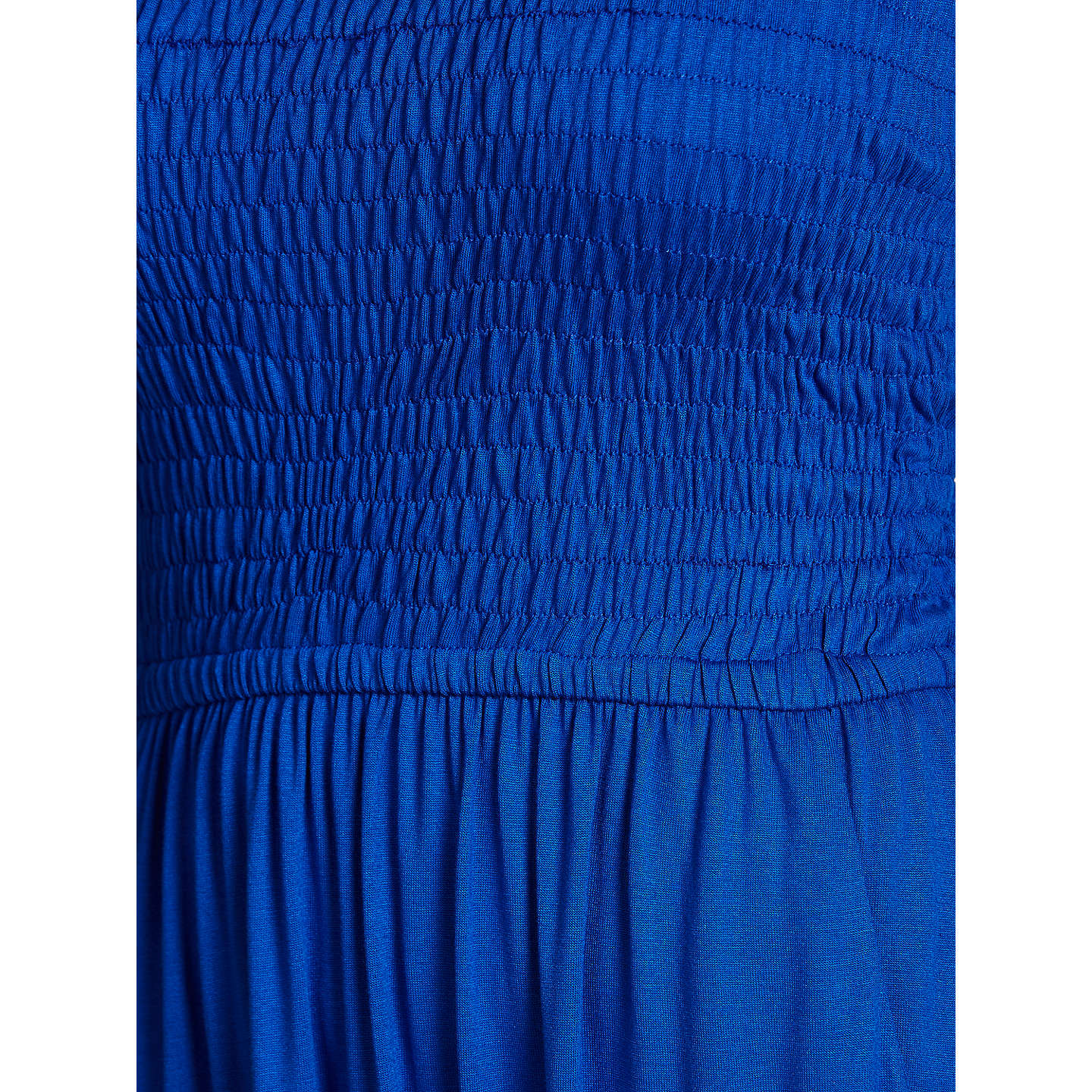 BuyJohn Lewis Jersey Bandeau Dress, Cobalt, S Online at johnlewis.com
